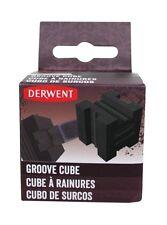 Derwent XL Charcoal Graphite Block Groove Cube