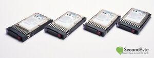"""4 X HP 146GB 2.5"""" 10K SAS HDD DG146BB976 430165-003 9F6066-035  TAX INVOICE"""