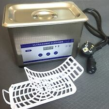 0.8L Ultrasonic Cleaner With Digital Timer For Jewelry Glass Cleaning Equipment