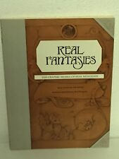 Real Fantasies By Real Musgrave Book Whimsical Workd Of Pocket Dragons Rare