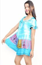Tunic Sleeveless Rayon Sundress Women and girls Summer Casual Top Free Size NN