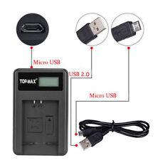 Batería de la Cámara Cargador Y Cable Usb Cámaras Digitales Canon NB11L NB11LH GO3