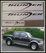 FORD RANGER PARTS SPARES THUNDER VINYL STICKERS DECALS