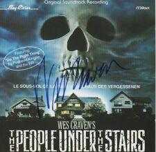 "Wes Craven autógrafo signed CD cuadernillo ""la casa de la olvidada"""
