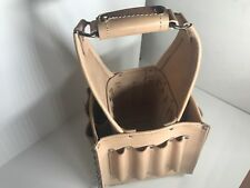 LEATHER ELECTRICAL & MAINTENANCE TOOL CARRIER