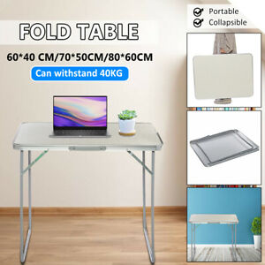Portable 40KG 88LBS Aluminum Alloy Folding Table BBQ Patio Home Party  @