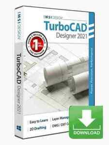 TurboCAD Designer 2021 CAD Design Software -- Electronic Download