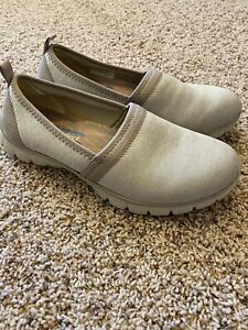 SKECHERS EZ FLEX AIR COOLED MEMORY FOAM SPORTY CASUAL SLIP ON SHOES 8 (38) EUC