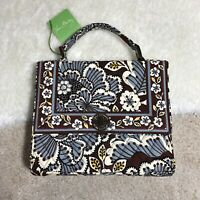 Vera Bradley Julia Slate Blooms Women Handbag/Crossbody Purse