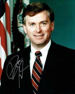 Senator Dan QUAYLE SIGNED Autograph Photo AFTAL COA American Politician Lawyer