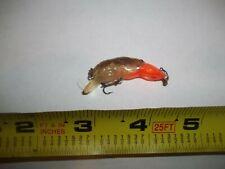 Rebel Mini Craw Crayfish crankbait fishing lure bait bass boat rod