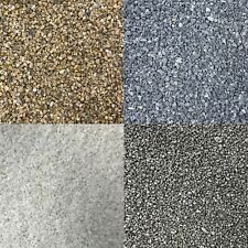 More details for fine aquarium gravel 1.5-3mm fish tank natural substrate black white grey colour