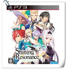 PS3 Shining Resonance 光明之響 中文 日文 SONY PlayStation RPG Games SEGA