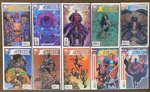 Excalibur #1,2,4,6,7,8,9,10,13,14 Marvel Comics Claremont Lot Nm 2004 (Series 3)