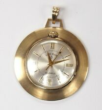Lord Elgin 14k Gold Pocket Watch Sz 7 23j GJS RRR Rare - Excellent Condition!