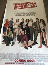 HUGE 8x5 FOOT ADVERTISING BANNER FOR THE MOVIE 'AMERICAN PIE 2'
