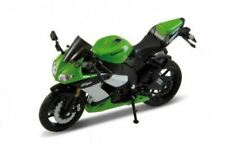 Welly 1:18 Metal Die-cast Motorbike Model - 09 Kawasaki Ninja ZX-10R