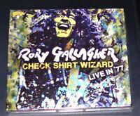 RORY GALLAGHER CHECK SHIRT WIZARD LIVE IN´77 CD IM DIGIPAK SCHNELLER VERSAND NEU