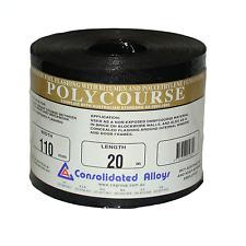 Consolidated Alloys ALUMINIUM FLASHING W/ BITUMEN POLYCOURSE 110mmx10m 150mmx10m