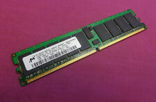1GB Micron MT18HTF12872Y-40EA2 PC3200R 400MHz 184-P DDR1 ECC Server Memory RAM