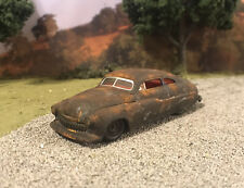 1949 Mercury Coupe Rusty Weathered Custom 1/64 Diecast Car Barn Find Rust M2