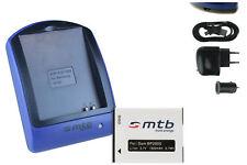 Chargeur+Batterie (USB) BP2000 pour Samsung Galaxy Camera 2 (EK-GC200)