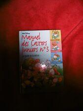 Manuel des Castors Juniors  N° 3 LA NATURE  - Hachette 1998 Walt Disney