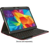 Logitech Type S Folio Keyboard Case Samsung Galaxy Tab S 10.5 Cover Red