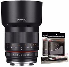 Samyang 50mm F1.2 AS UMC CS Standard Angle Lens for Micro Four Thirds MFT M4/3