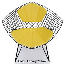 Bertoia Diamond Chair Replacement Cushion and Back Rest -  Eames Era Mid Century