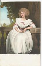 "LOVEY VINTAGE MISCH POSTCARD,ARTIST,ROMNEY""MRS MARK CURRIE"""