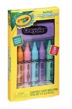 Crayola Bathtub Body Wash Pens, 5 count, 5 fl oz, Pastel Colors