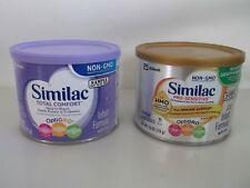 SIMILAC TOTAL COMFORT & SIMILAC PRO SENSITIVE INFANT FORMULA TWO 7.6OZ CANS
