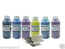 Refill pigment ink kit for Epson 98 T098 99 T099 Artisan 810 835 837 6x10oz/s