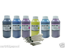 Refill pigment ink kit for Epson 98 T098 99 T099 Artisan 810 835 837 6x10oz/s