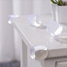4X Kind Baby Safe Tisch Ecke GUARD Schutz Silikon Gummi Abdeckung WH