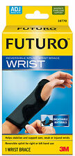 Genuine 3M Futuro Adjustable Reversible Splint Wrist Brace *New Carpal Tunnel