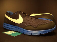 2010 Nike Air LUNARFLY + BLACK COOL WOLF GREY ROYAL BLUE WHITE 396048-003 NEW 13