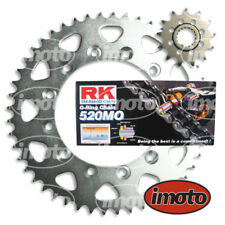 KAWASAKI KR1 250 RK O-RING CHAIN AND JT SPROCKET KIT 14/40 - SILVER REAR