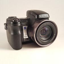 Sony Cyber-shot DSC-H7 8.1MP Digital Camera Black - Good Condition Untested