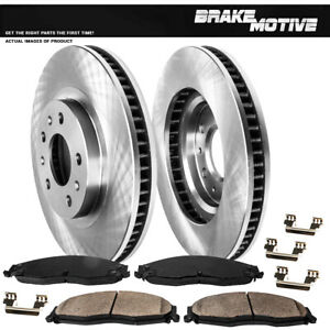 For 2003 2004 2005 2006 2007 Cadillac CTS Front Rotors And Ceramic Pads