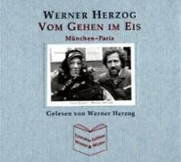 """WERNER HERZOG """"VOM GEHEN IM EIS"""" 3 CD HÖRBUCH NEU"""