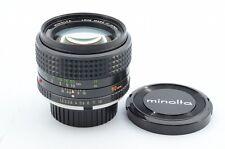Excllent++ MINOLTA MC ROKKOR-PG 50mm F/1.4 MF Lens From Japan!! 86132