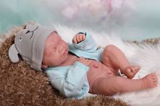 "Baby Boy Crying Doll Newborn Berenguer 14"" Real Reborn Vinyl Preemie LifeLike"