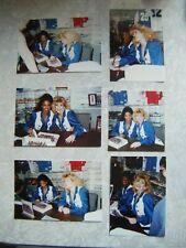 1992 Dallas Cowboys Cheerleaders Photo Lot of 6 : Pamela Guyton + Susan Mitchell