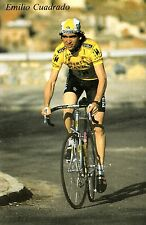 CYCLISME carte cycliste EMILIO CUADRADO équipe PUERTAS MAVISA