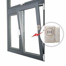 2x Wireless Door Alarm For Shed Garage Caravan Security Alarms Window Sensor UK