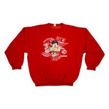 Disney Mickey Mouse Embroidered Sweatshirt | Rare Vintage 80s Travel Italian