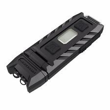 Nitecore THUMB 85 Lumen USB Rechargeable Keychain Flashlight Tiltable White Red