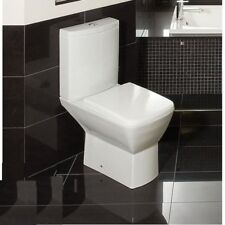 Summit Close Coupled Toilet WC Push Button RAK  Cistern Soft Close Seat